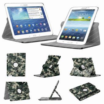mp Stuff Housse Vert Camouflage pour Samsung Galaxy Tab  P avec mecanisme de degres w