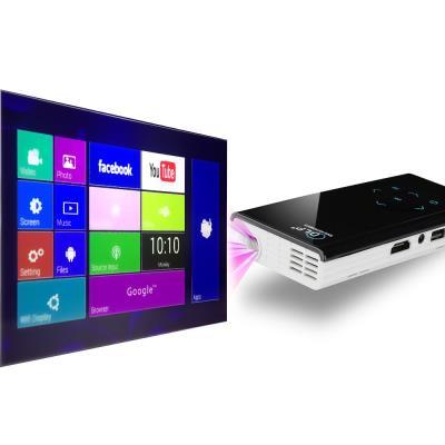 Profitez d´une image cristalline avec ce vidéoprojecteur DLP 120 lumens, contraste 1000:1 Connectivité versatile pour tous les contenus média sur un grand écran Mini vidéoprojecteur DLP de poche pour être transporté n´importe où Android 4.4 sur un écran 1