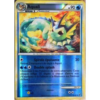 Carte pok mon 41 90 aquali 90 pv reverse hs indomptable neuf fr achat prix fnac - Carte pokemon aquali ...