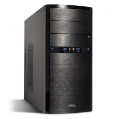 Ubuntu Pré-installé ! Le système d´exploitation simple et sans virus ! Parfait pour la bureautique, ce PC est soutenu par un processeur Intel Dual Core G1820, de ports USB 3.0, de 4 Go de mémoire, d´un SSD de 60 Go et dun disque dur de 1 To.