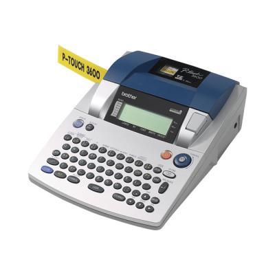 La P-touch 3600 de Brother est une étiqueteuse électronique parfaite pour une utilisation en autonome ou connectée à un PC ou un Macintosh.Grâce à ses multiples fonctions d´impression, l´étiqueteuse P-touch 3600 est la machine idéale pour répondre à tous