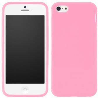 coque souple en silicone rose pour iphone 5 5s achat prix fnac. Black Bedroom Furniture Sets. Home Design Ideas