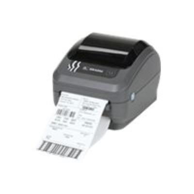 Le modèle Zebra GK offre le meilleur rapport qualité/prix pour une imprimante thermique de bureau de base. L´imprimante GK420d permet une impression thermique directe à une vitesse maximale de 127 millimètres par seconde (mm/s) et une densité d´impression
