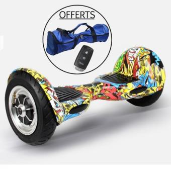 skateboard electrique hoverboard wegoboard 4x4 graffiti. Black Bedroom Furniture Sets. Home Design Ideas