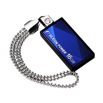 Silicon Power Touch 810. Capacité 16 GB, Type dinterface USB 2.0. Largeur 15 mm, Profondeur 34.5 mm, Hauteur 5.15 mm. Fourchette de température de fonctionnement 0 - 70 °C, Température hors fonctionnement -40 - 85 °C Caractéristiques - Capacité 16 GB - Ty