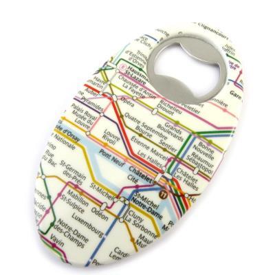 Image du produit Les Trésors De Lily [M4560] - Décapsuleur créateur ´Métro de Paris´ plan RATP