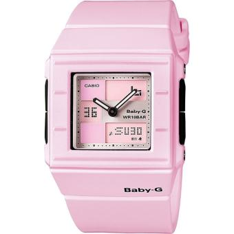 montre femme casio baby g bga 200 4e2er bracelet r sine rose achat prix fnac. Black Bedroom Furniture Sets. Home Design Ideas