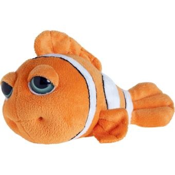 Peluche poisson clown aux yeux clatants par petjes world for Poisson clown achat