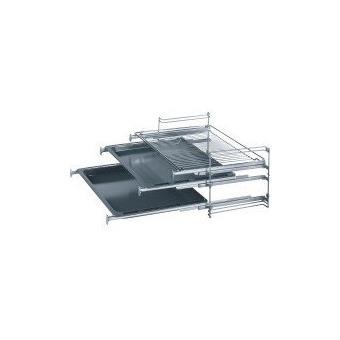 bosch hez333100 rail t lescopique pour four encastrable inox achat prix fnac. Black Bedroom Furniture Sets. Home Design Ideas