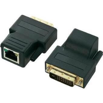 r p teur extension connecteur m le dvi d rj45 femelle rj45 femelle connecteur m le dvi d. Black Bedroom Furniture Sets. Home Design Ideas