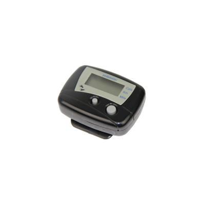 Podomètre avec compteur de calories et de distance STAY FIT - podomètre (distance en km ou en miles) - compteur de calories Vraiment simple a utiliser ce podomètre compact (4 x 3,5 cm) se fixe a la ceinture gra¢ce a son clip ou se glisse dans une poche. I