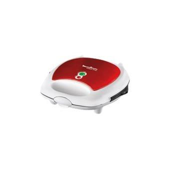 Moulinex sw6125 break time red ruby grille sandwich gaufrier grill rouge rubis achat - Appareil croque monsieur 3 en 1 ...