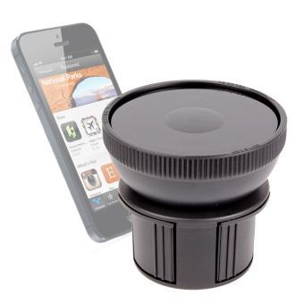 support fixation porte gobelet voiture pour smartphone. Black Bedroom Furniture Sets. Home Design Ideas