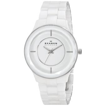 montre femme skagen perspektiv skw2066 bracelet en c ramique blanche achat prix fnac. Black Bedroom Furniture Sets. Home Design Ideas