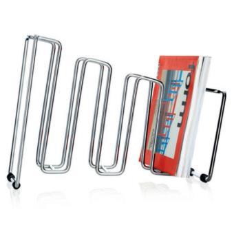 Porte revues chrom pila horizontal ou vertical achat prix fnac for Porte revue vertical