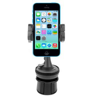 support 3 en 1 porte gobelet voiture pour smartphone. Black Bedroom Furniture Sets. Home Design Ideas