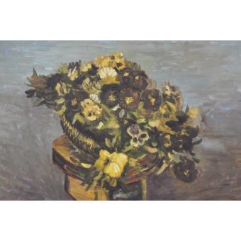 Vincent van gogh peinture l huile tambour avec pens es 1886 60x90 cm top prix fnac - Peinture a l huile van gogh ...