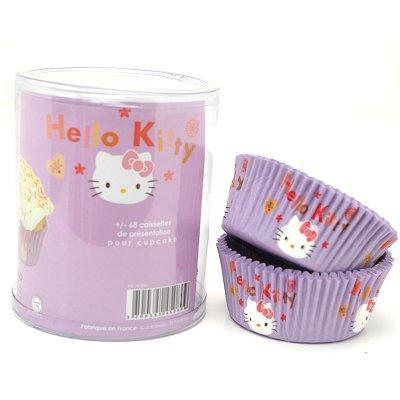 Image du produit ScrapCooking® - Moule en papier décoratif - Caissettes papier cupcakes : Hello Kitty