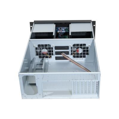 Caractéristiques - Fonction Energy Saving intégrée - Porte ouvrante avec serrure et filtre à air changeable - Baies pour disques durs avec système anti vibrations - Compatible avec les cartes mères eATX de 12 x 13 ou moins - Equerres latérales en aluminiu