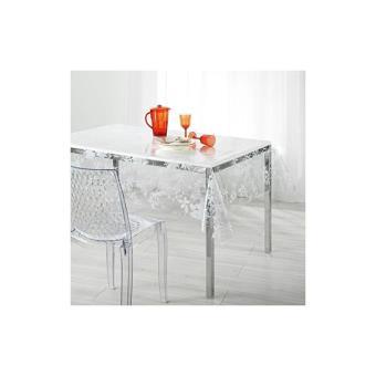 nappe imperm able rectangulaire en pvc 140 x 240 cm imprim fleurs achat prix fnac. Black Bedroom Furniture Sets. Home Design Ideas