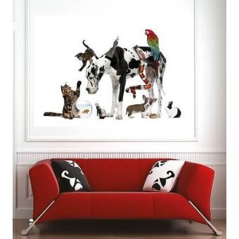 Affiche poster d coration murale animaux r f 57834802 6 for Decoration murale 974