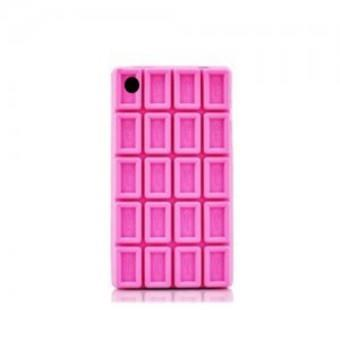 coque iphone 4 4s tablette de chocolat rose achat prix fnac. Black Bedroom Furniture Sets. Home Design Ideas