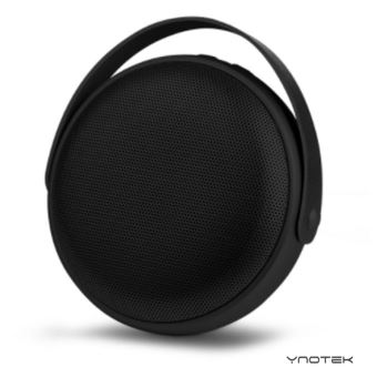 enceinte avwo mini enceinte plate portable bluetooth sans fil 5w noir compatible iphone. Black Bedroom Furniture Sets. Home Design Ideas