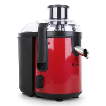 klarstein fruit tornado centrifugeuse extracteur de jus 400w inox noir rouge achat prix fnac. Black Bedroom Furniture Sets. Home Design Ideas