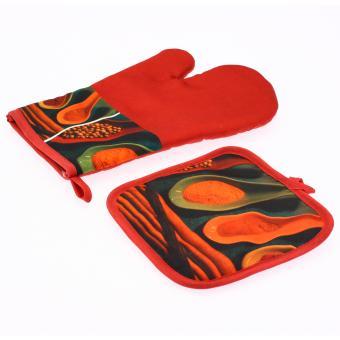 gant manique de cusine food cuill re piment rouge achat prix fnac. Black Bedroom Furniture Sets. Home Design Ideas