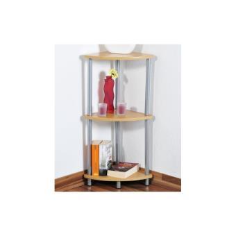 etag re d 39 angle en bois hauteur 75 cm petit module de rangement achat prix fnac. Black Bedroom Furniture Sets. Home Design Ideas