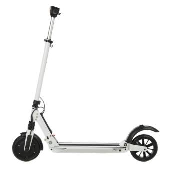 trottinette l ctrique mobi booster blanche pliable achat prix fnac. Black Bedroom Furniture Sets. Home Design Ideas