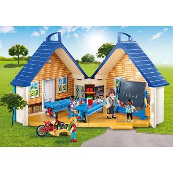 playmobil 5662 city life ecole transportable achat prix fnac. Black Bedroom Furniture Sets. Home Design Ideas