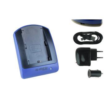 chargeur usb auto secteur lp e6 lpe6 pour canon eos 6d. Black Bedroom Furniture Sets. Home Design Ideas