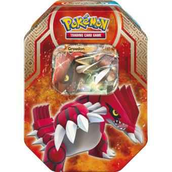 pokebox groudon carte pokemon boite metal rouge achat prix fnac. Black Bedroom Furniture Sets. Home Design Ideas