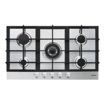 Airlux at955hix table de cuisson au gaz 90 cm inox - Table de cuisson 90 cm gaz ...