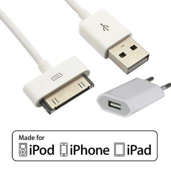 pack de charge 2 en 1 iphone 3 4 ipod ipad c ble prise achat prix fnac. Black Bedroom Furniture Sets. Home Design Ideas