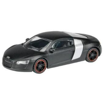vehicule miniature audi r8 noir mat 1 87 schuco 452581900 acheter sur. Black Bedroom Furniture Sets. Home Design Ideas