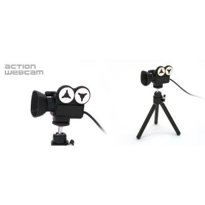 Film caméra webcam VGA 640 x 480 (300K pixels) Bouton de capture instantané Microphone intégré Position clip-support pour les écrans LCD ou ordinateur portable Trépied pratique pour les utilisateurs de PC de bureau Fonctionne avec Skype, MSN Messenger et