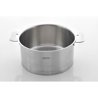 cristel casserole induction amovible l 20cm c20ql achat prix fnac. Black Bedroom Furniture Sets. Home Design Ideas