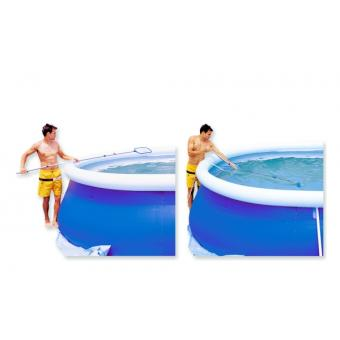 Epuisette de surface et aspirateur de fond venturi pour - Epuisette de surface pour piscine ...