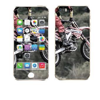 skin stickers pour apple iphone 5s sticker saut en moto achat prix fnac. Black Bedroom Furniture Sets. Home Design Ideas