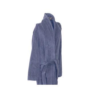 Peignoir ponge homme 100 coton bleu taille l achat prix fnac for Peignoir eponge homme
