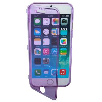 etui housse coque gel rabat apple iphone 6 plus violet achat prix fnac. Black Bedroom Furniture Sets. Home Design Ideas