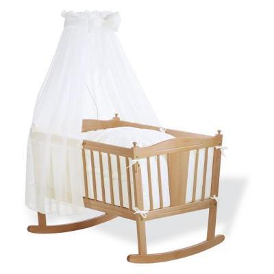 Pinolino - Parure de berceau bébé - 4 pièces - Blanc pour 154€