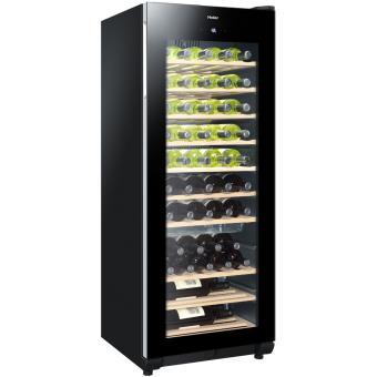 cave vin de service 1 temp 50 bouteilles noir. Black Bedroom Furniture Sets. Home Design Ideas