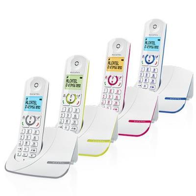 Elégant et efficace ! Alcatel F390 allie couleur et élégance. Ses courbes épurées et ses coloris tendance lui permettent de trouver facilement sa place dans votre intérieur ! Profitez d´un grand confort de lecture grâce à son écran rétro éclairé très lisi