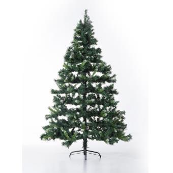 Sapin artificiel arbre de no l vert 180cmf110avec for Sapin artificiel professionnel