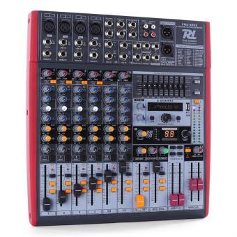 Power dynamics pdm s803 table de mixage 8 pistes usb dsp for Table de mixage yamaha 6 pistes