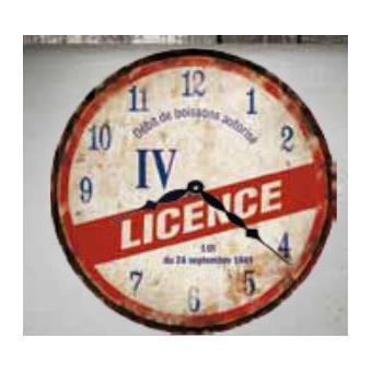 Horloge bois 30 cm licence iv top prix sur - Licence 4 prix ...