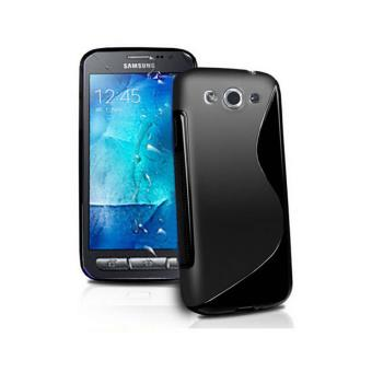 Coque samsung galaxy xcover 3 g388f housse silicone noir for Housse xcover 4